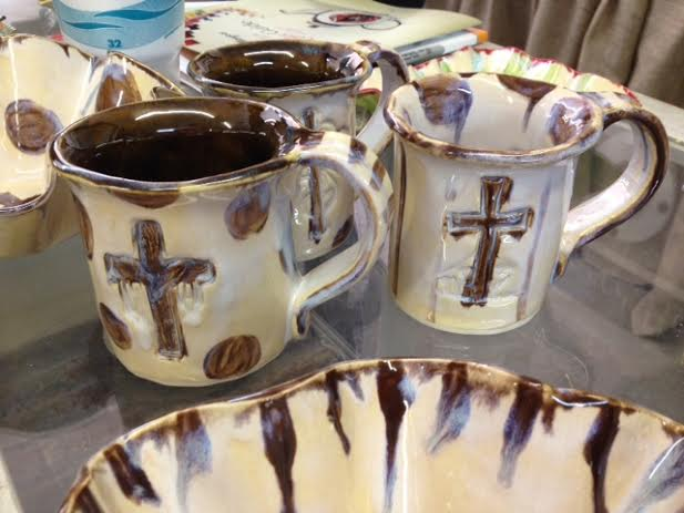 Heartfelt Traditions whimsical pottery line